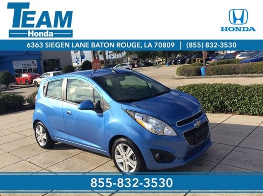2014 Chevrolet Spark Lt Baton Rouge La Gonzales Denham Springs New Orleans Louisiana Kl8cd6s90ec502103